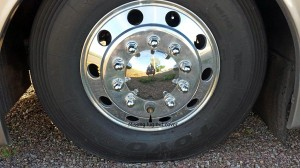 New lug nut covers go on today