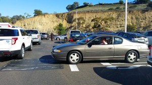 Gridlock in the Costco parking lot
