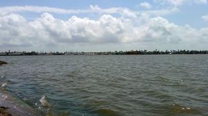 View of Key Allgro across Little Bay