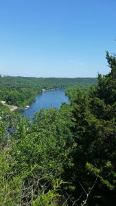 Lake Taneycomo west of Point Lookout