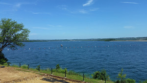 Table Rock Lake viewed from the visitor center