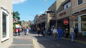 Plaza ahead on San Francisco Street