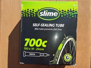 Slime self-sealing tube