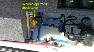 Electrically operated valve