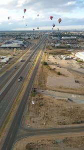 Crossing I-25