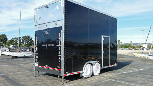 Stacker trailer