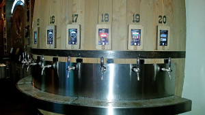 Electronic taps at Barrel Republic