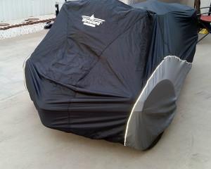 Spyder under cover