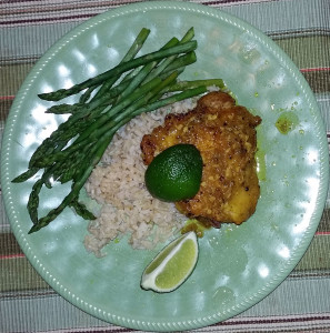 3_23dnrplTimeric chicken with rice and asparagus