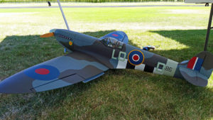 Large scale WWII Spitfire