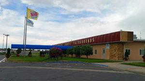 Fairgrounds building