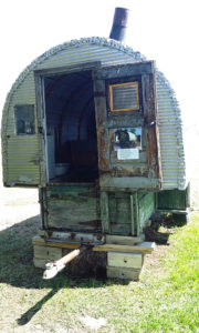 Sheep herders mobile quarters