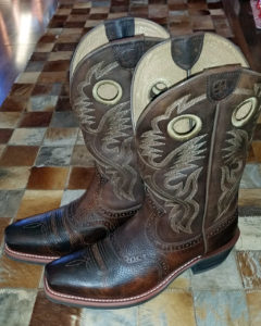 The Ariats Donna bought for me